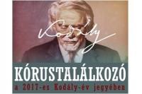 Kórustalálkozót tartottak Csornán, Kodály Zoltán születésének 135., halálának 50. évfordulójára emlékezve.